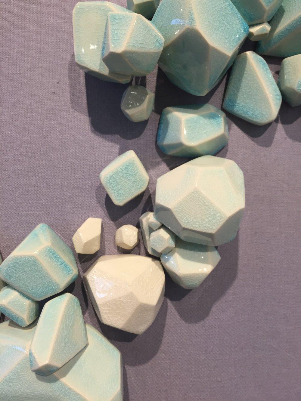 Shannon Sullivan, Interactive Bubble Array (Aqua 1), 2017