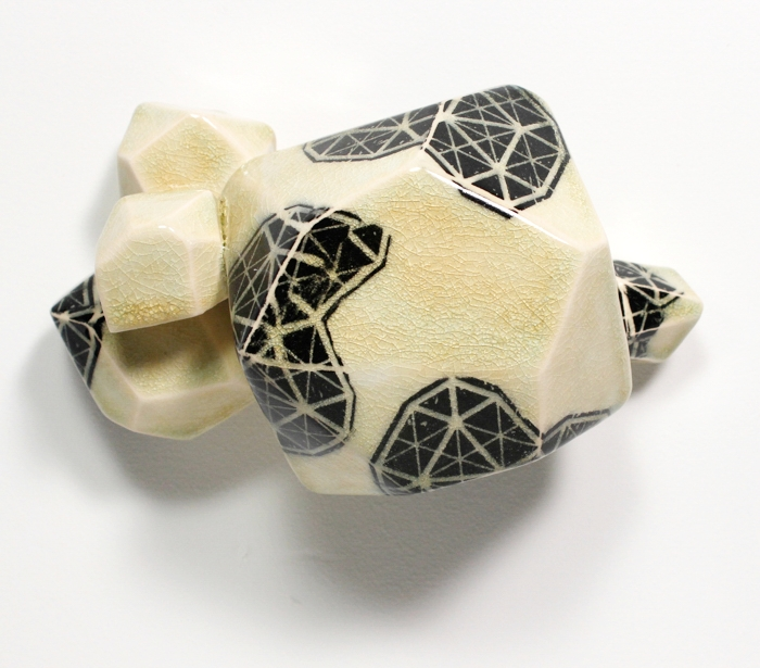 Intuihedron (Light Amber), 2014