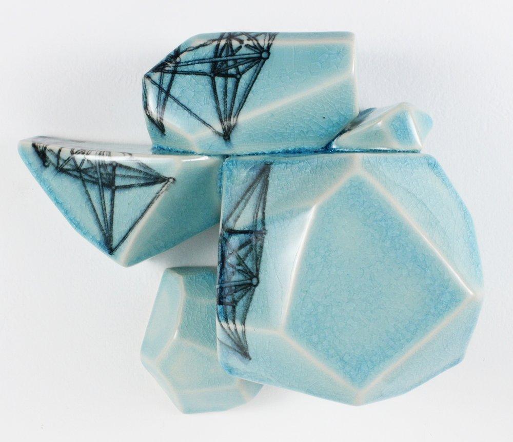 Intuihedron (Aqua #4), 2016
