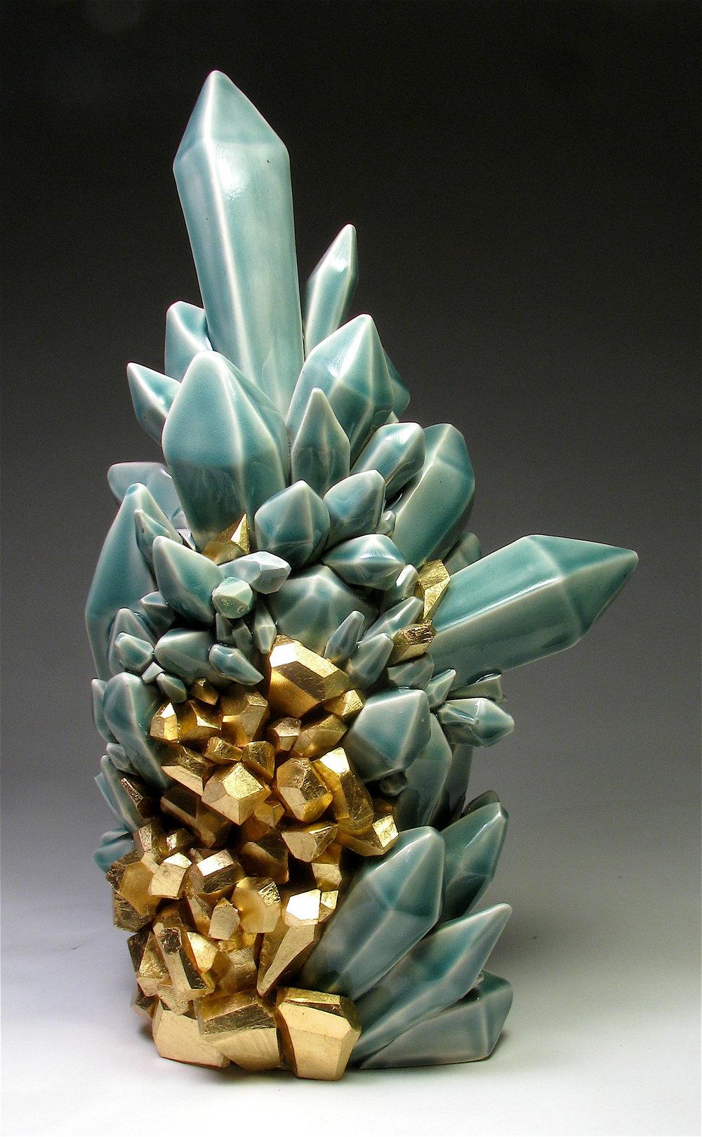 Metallic Vein (Gold + Cobalt), 2014