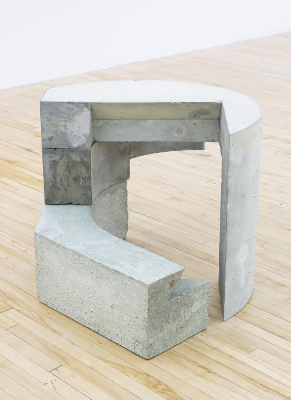 "Lunopel , 2016,concrete,23"" x 36"" x 32"""