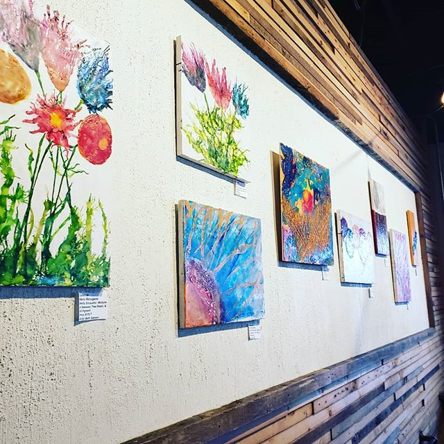 @bethsievers work @foragerbrewery ! So beautiful! Encaustic pieces up the month of November. Reception on Nov 26th 6-730 pm . . . #mnartist #minnesota #localartist #mn #mnartists #rochmn #rochestermn #womanartist #localartist #shoplocal #supportlocal #rochester_mn #bethsieversencausticart #gallery24 #artistcollaborative #foragerbrewery #artistsoninstagram #minnesotabrewery