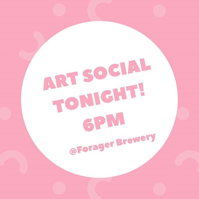 Art Social @foragerbrewery ! Bring your supplies lets meet talk have fun❤❤❤❤✊ #artistcollaborative #artscommunity #localartists #localart #creativecommunity #artsocial #gallery24 #byow #rochesterartscommunity #rochester_mn #mn #mnartist #rochmn #minnesota_rochester #rochestermn