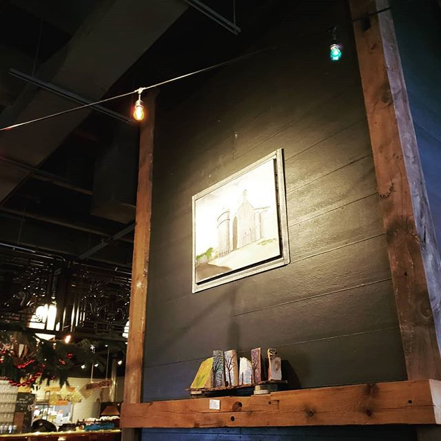 Group show is up through the month of December ❤❤❤❤@foragerbrewery . . . #handmade #artistsoninstagram #artistsofinstagram #localartist #mn #mnartists #rochester_mn #gallery24 #shoplocal #supportlocal #rochestermn #mnartist #minnesota