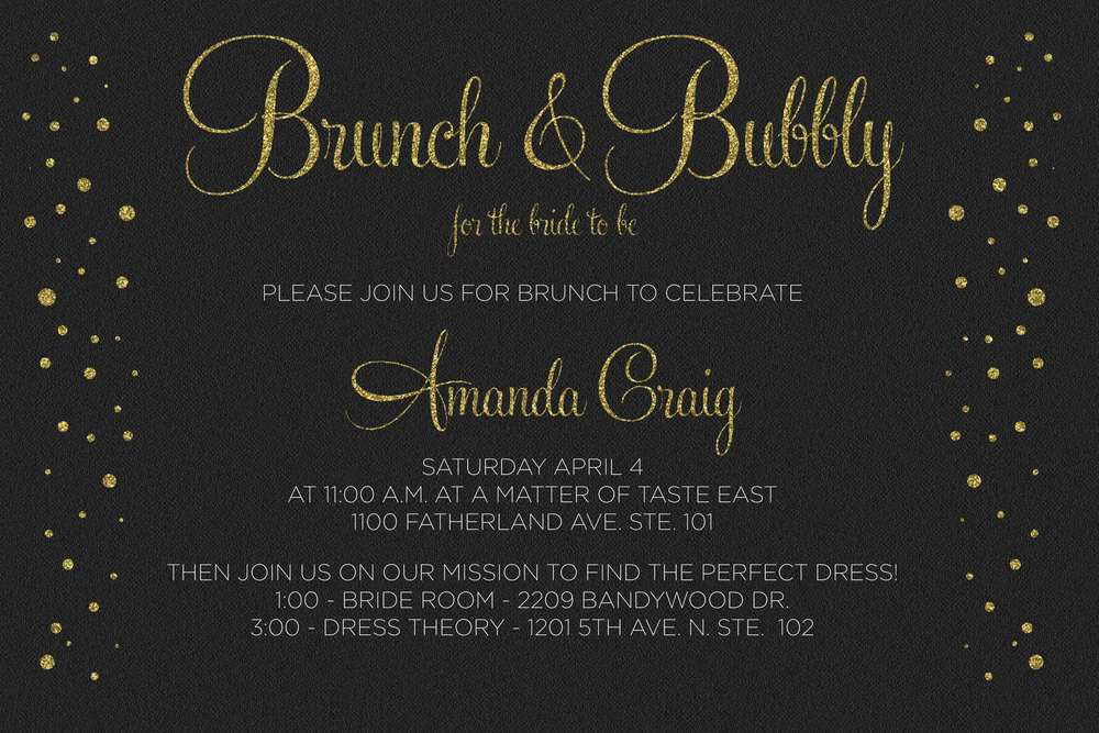 Brunch & Bubbly! I want to brunch and bubble every day!