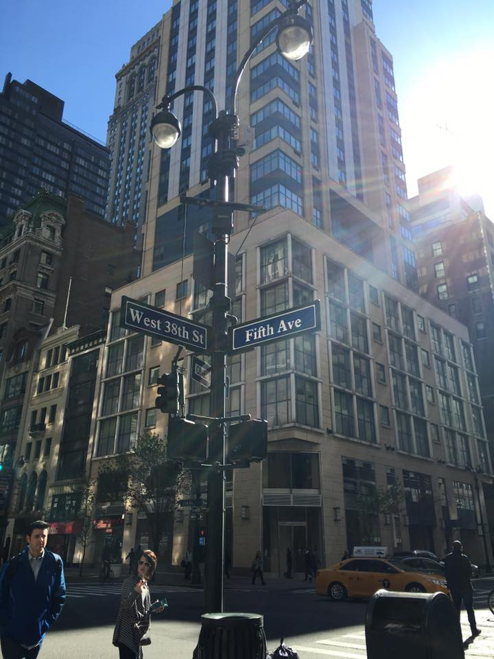 This right here is what my Mom always envisioned walking down 5th ave -- so cool to see it through her eyes