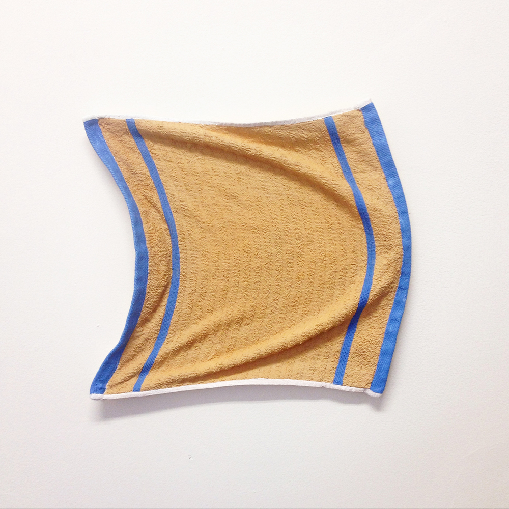 Untitled (hand towel), 2015