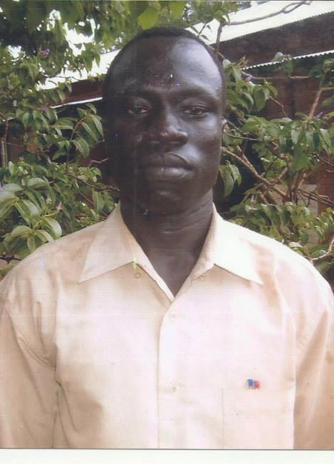 Mr. Matuor Mayom, Biology teacher