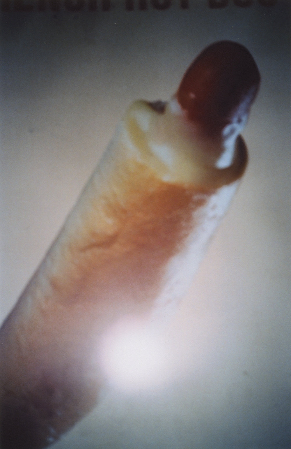 Disposable 15A (Lipstick), 2018, C-print.