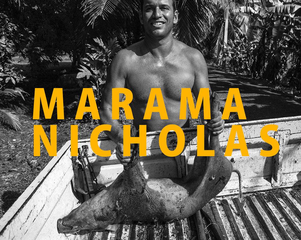 MARAMA NICHOLAS