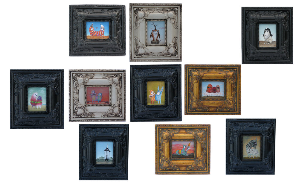 Framed Paintings