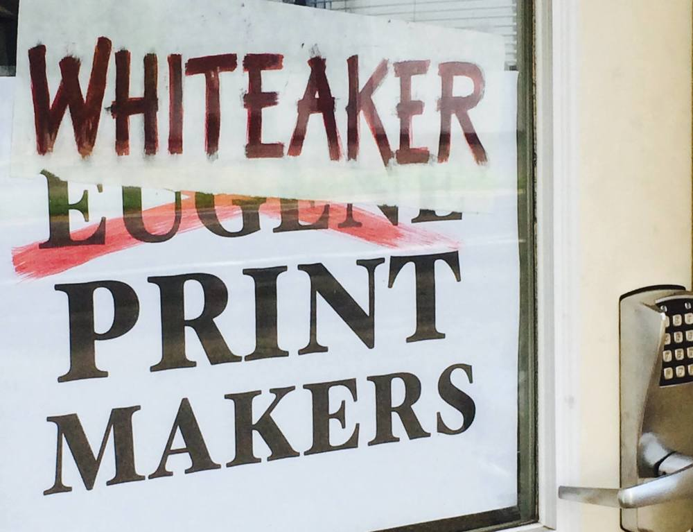 Whiteaker Printmakers (f.k.a. Eugene Printmakers)