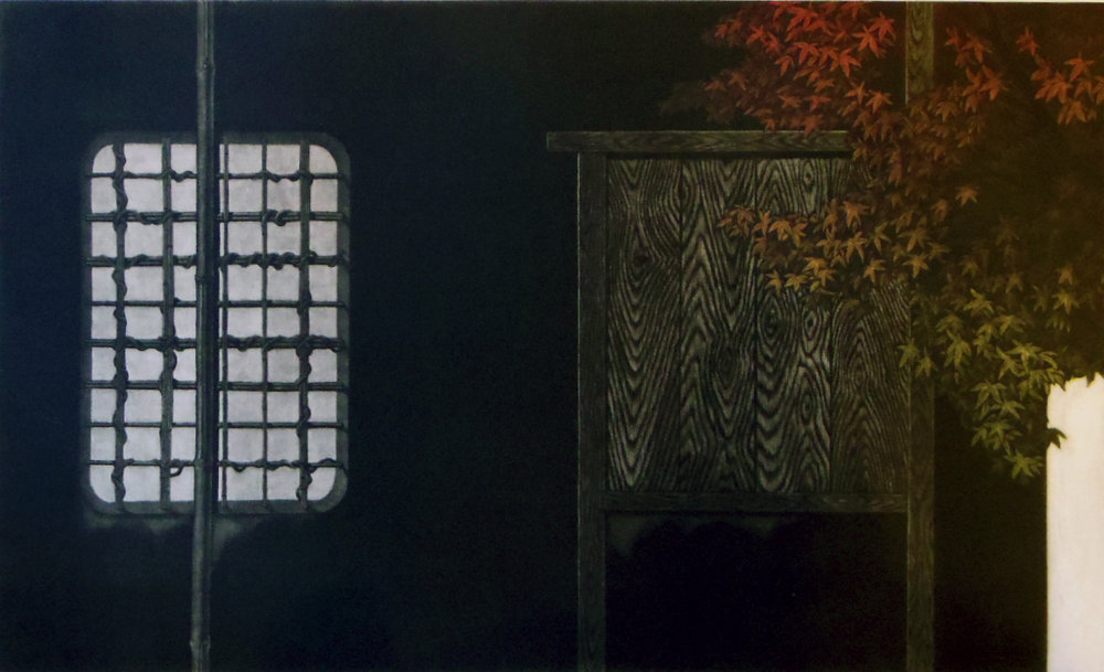 Katsunori Hamanishi Window No.4, 2006 Mezzotint Edition of 50