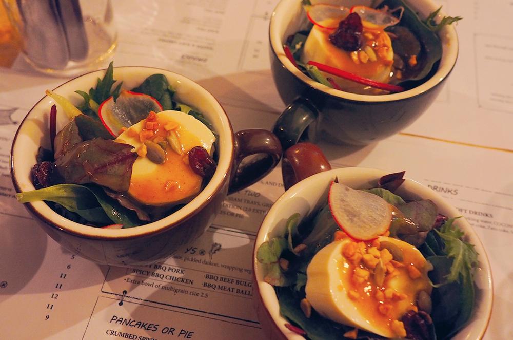 Suda Korean Bistro Melbourne CBD Review - Tofu Salad