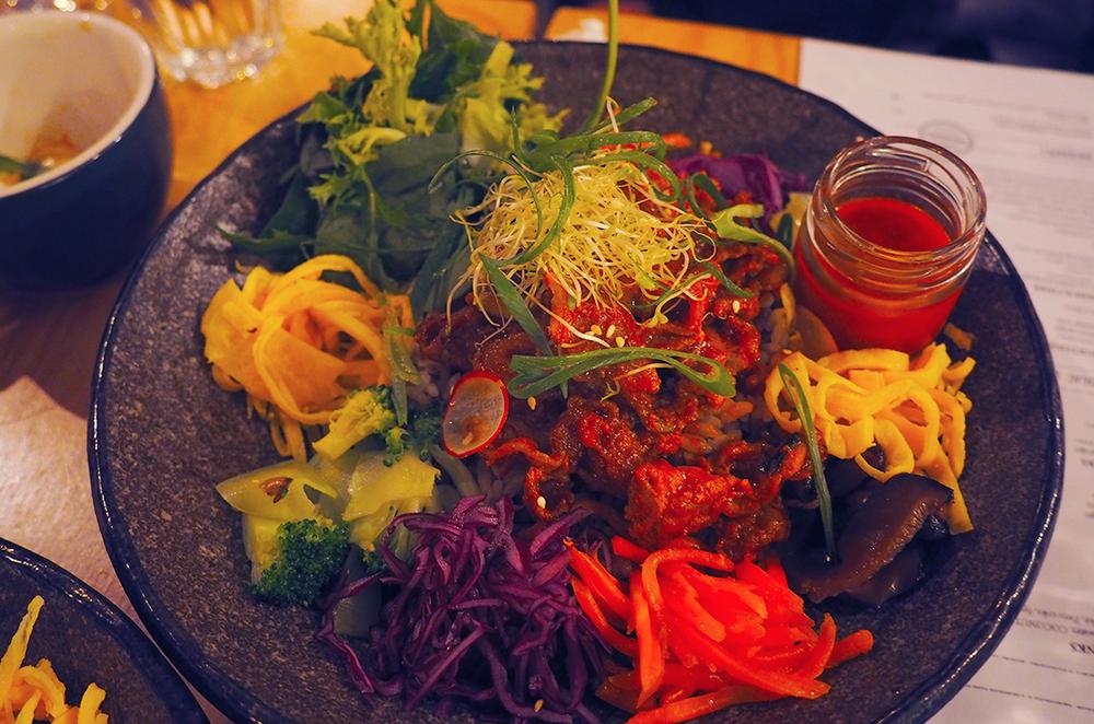 Suda Korean Bistro Melbourne CBD Review - Spicy BBQ Pork Bibimbap