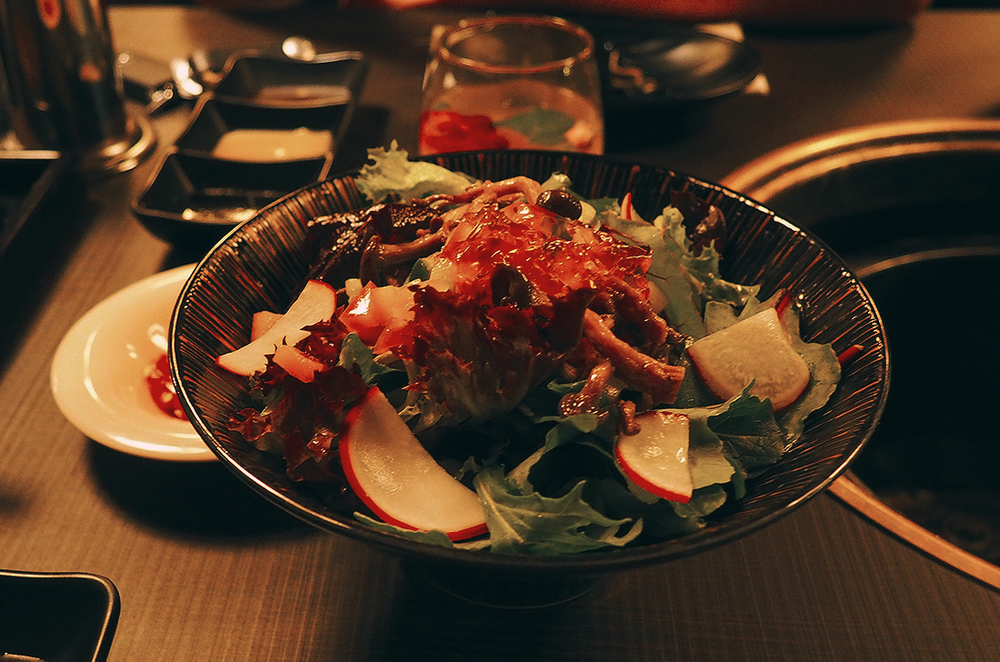 Wagyu Ya Japanese Restaurant South Yarra Toorak Review Wafu Salad