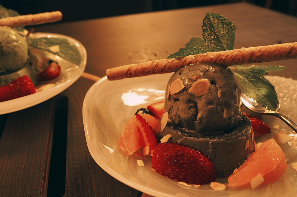 Wagyu Ya Japanese Restaurant South Yarra Toorak Review - Black Sesame Pudding