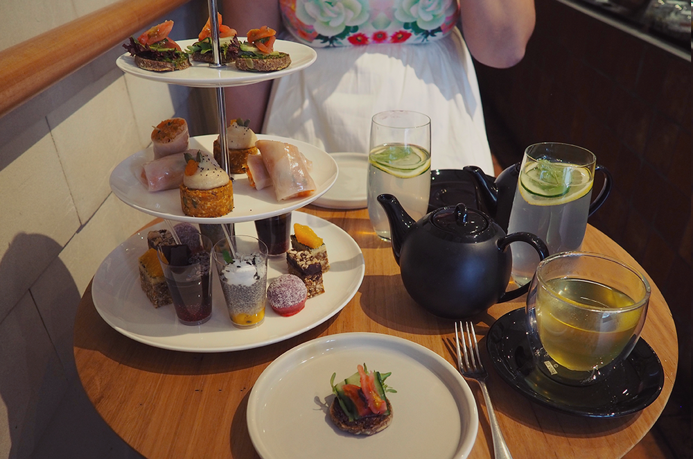 Yardmill Kitchen and Grocery Raw Vegan High Tea Blog Review