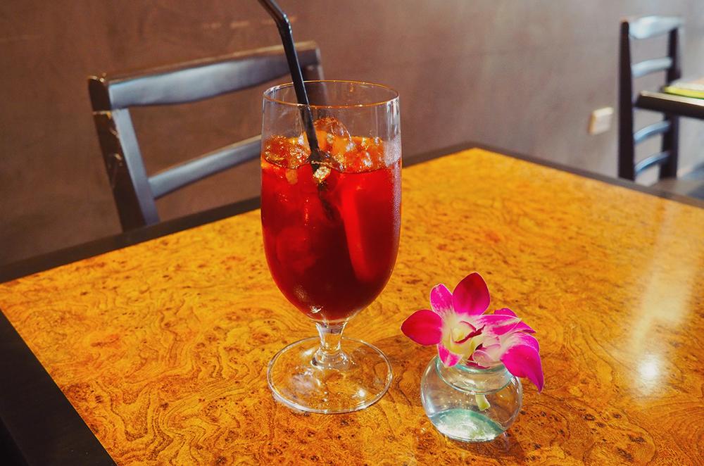 Palm Sugar Royal Thai Richmond Blog Review - lemon ice tea