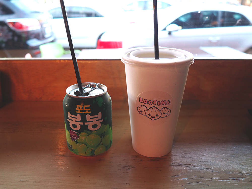 Baotime Blog Review Richmond Baogers - lychee soda bongbong juice