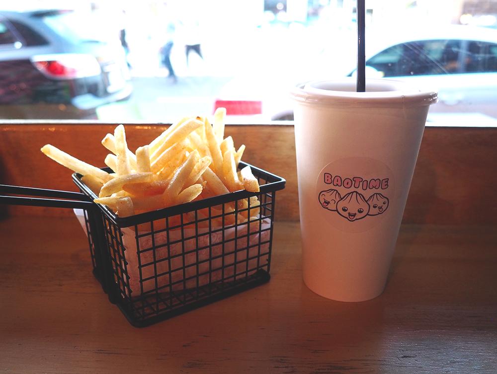 Baotime Blog Review Richmond Baogers - mr potato fries burnt butter fries