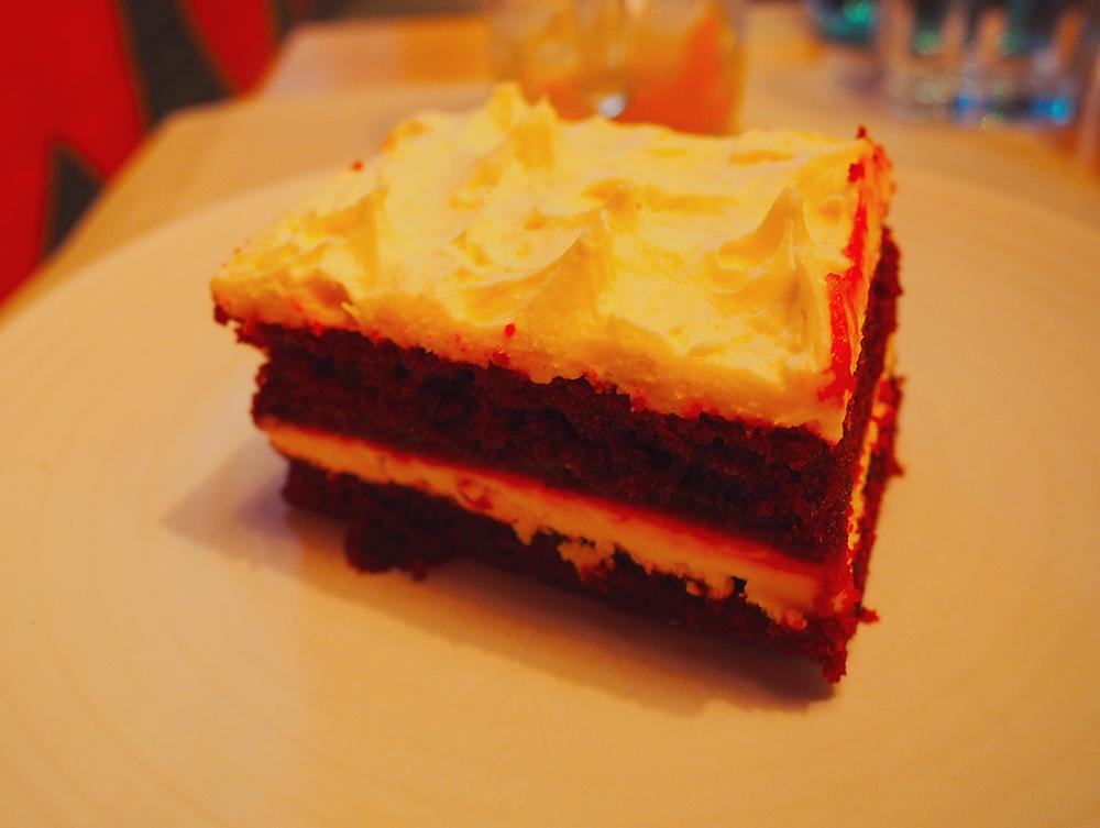 San Antone by Bludso's BBQ - Blog Review red velvet cake