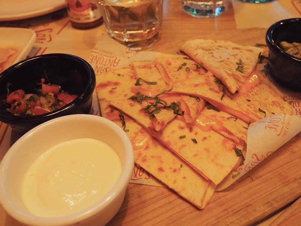 San Antone by Bludso's BBQ - Blog Review Quesedilla