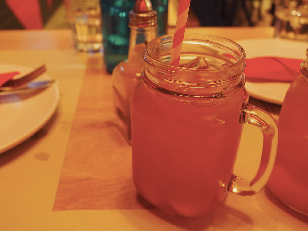 San Antone by Bludso's BBQ - Blog Review House Made Peach Iced Tea