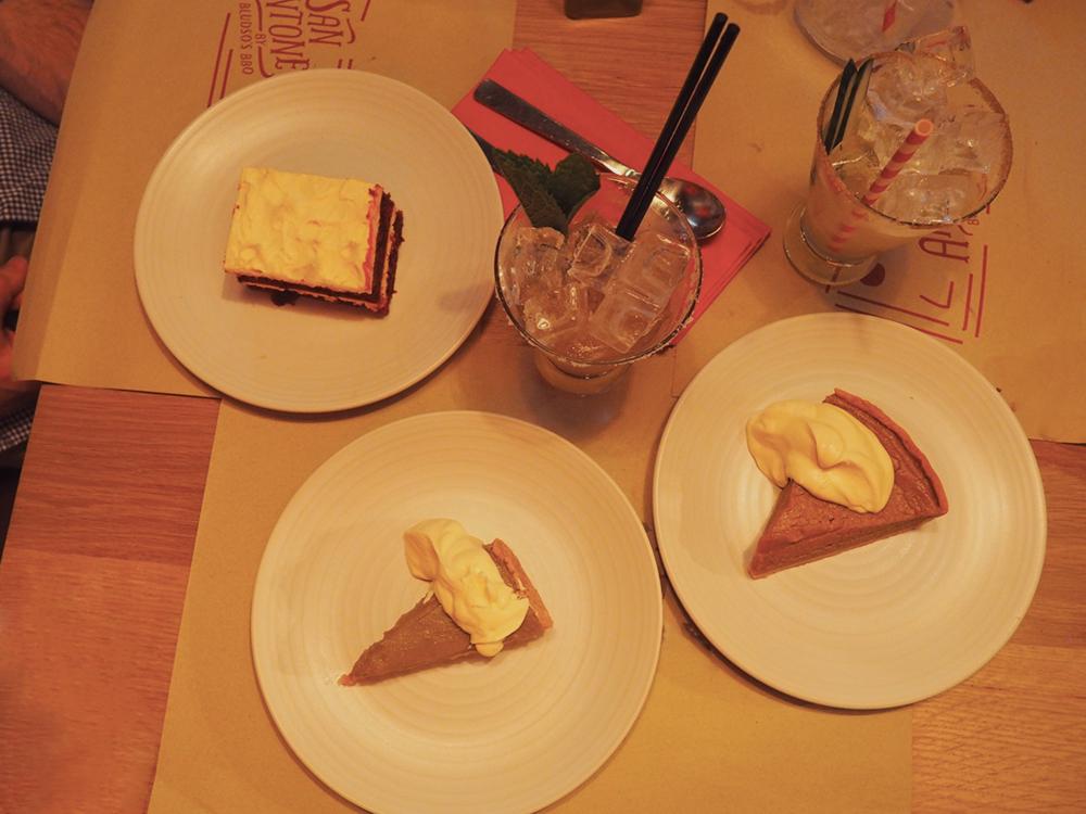 San Antone by Bludso's BBQ - Blog Review dessert spread