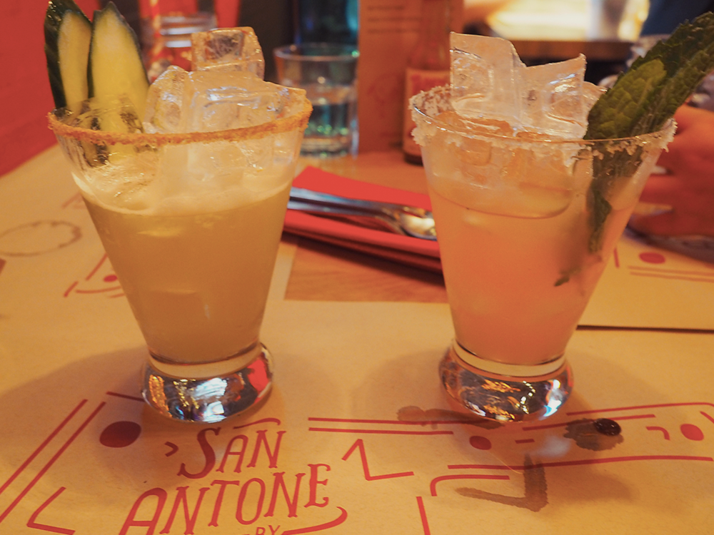San Antone by Bludso's BBQ - Blog Review margaritas