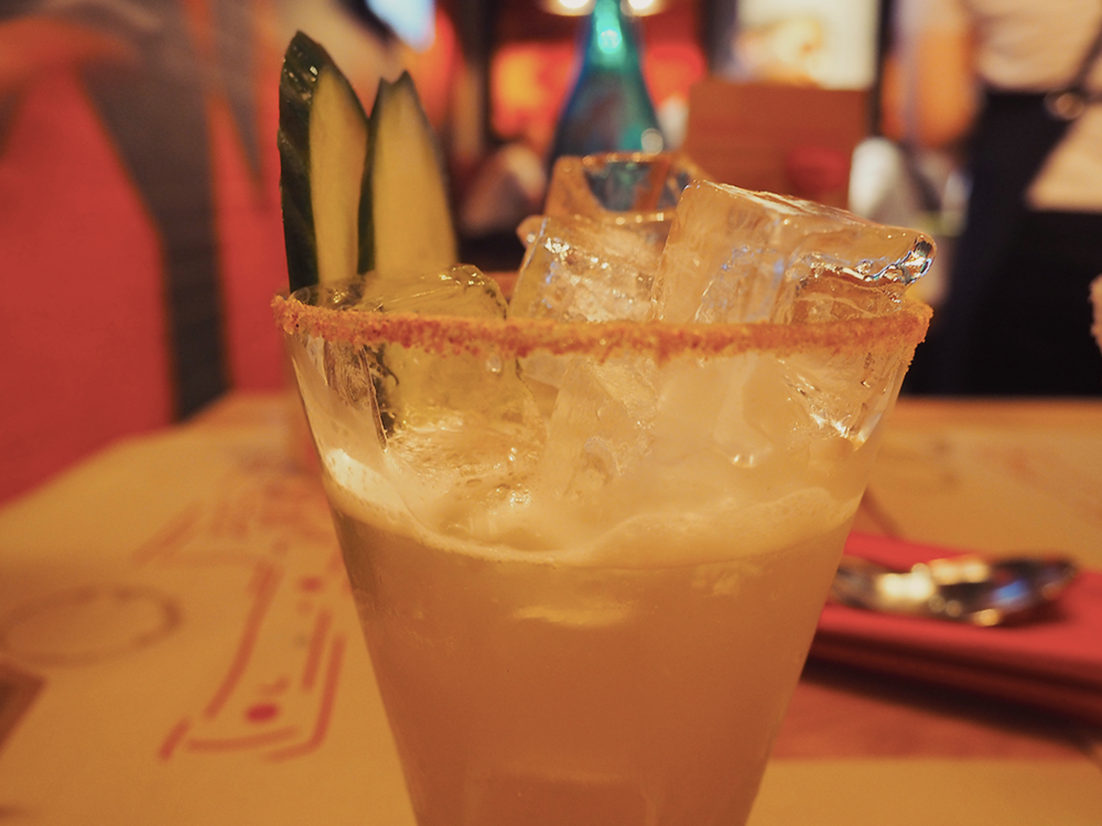 San Antone by Bludso's BBQ - Blog Review margarita jalapeno