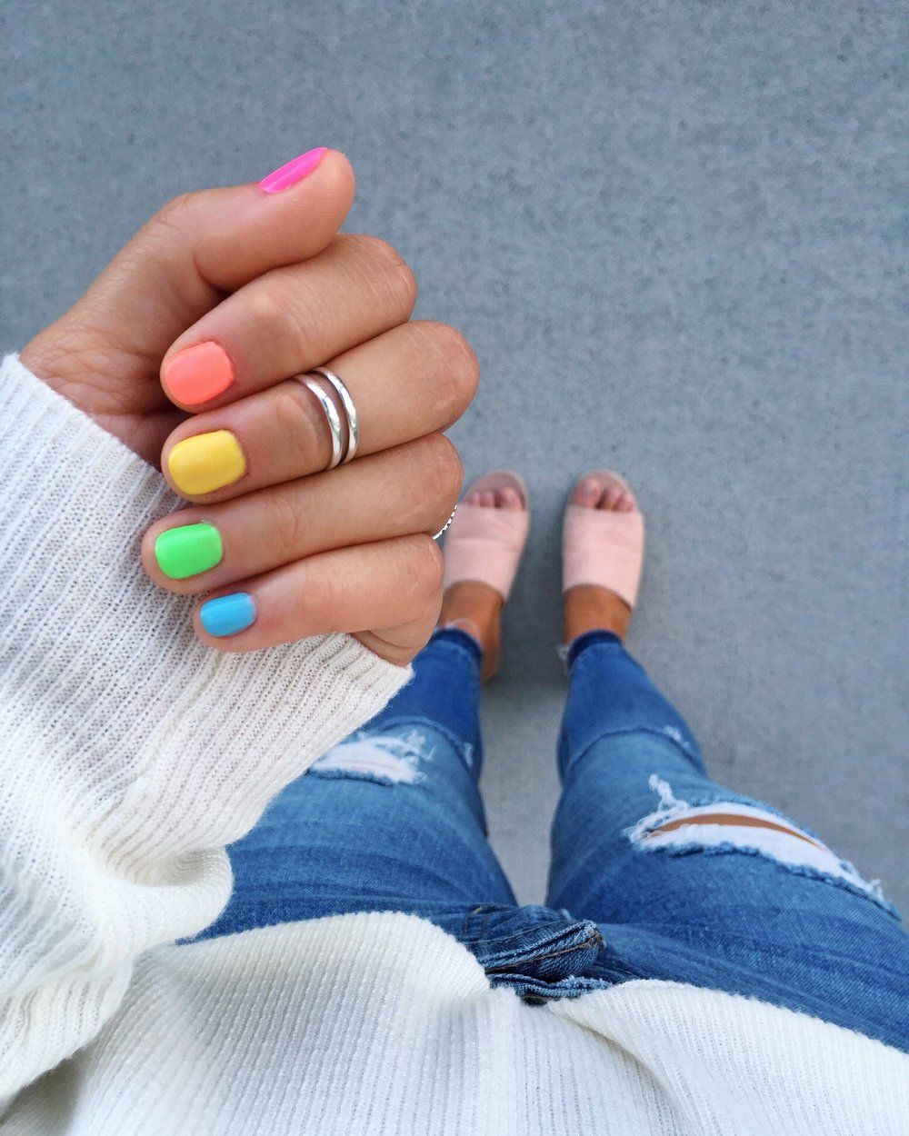 Rainbow Nails — BRE SHEPPARD