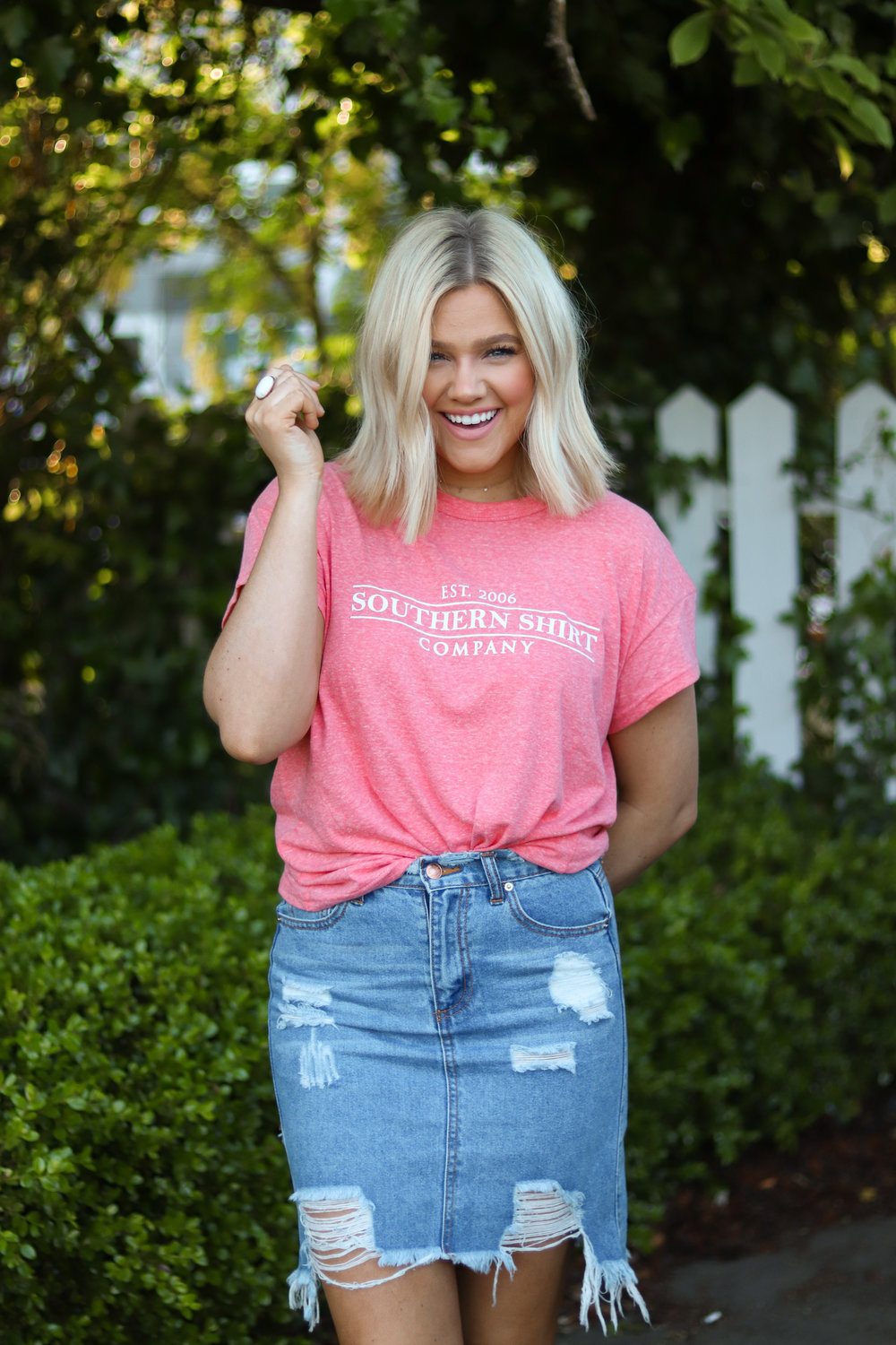 Bre Sheppard - Southern Shirt Spring & Summer Style Guide