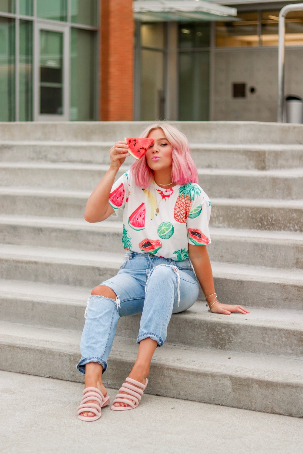 Pink Hair, Don't Care - bresheppard.com