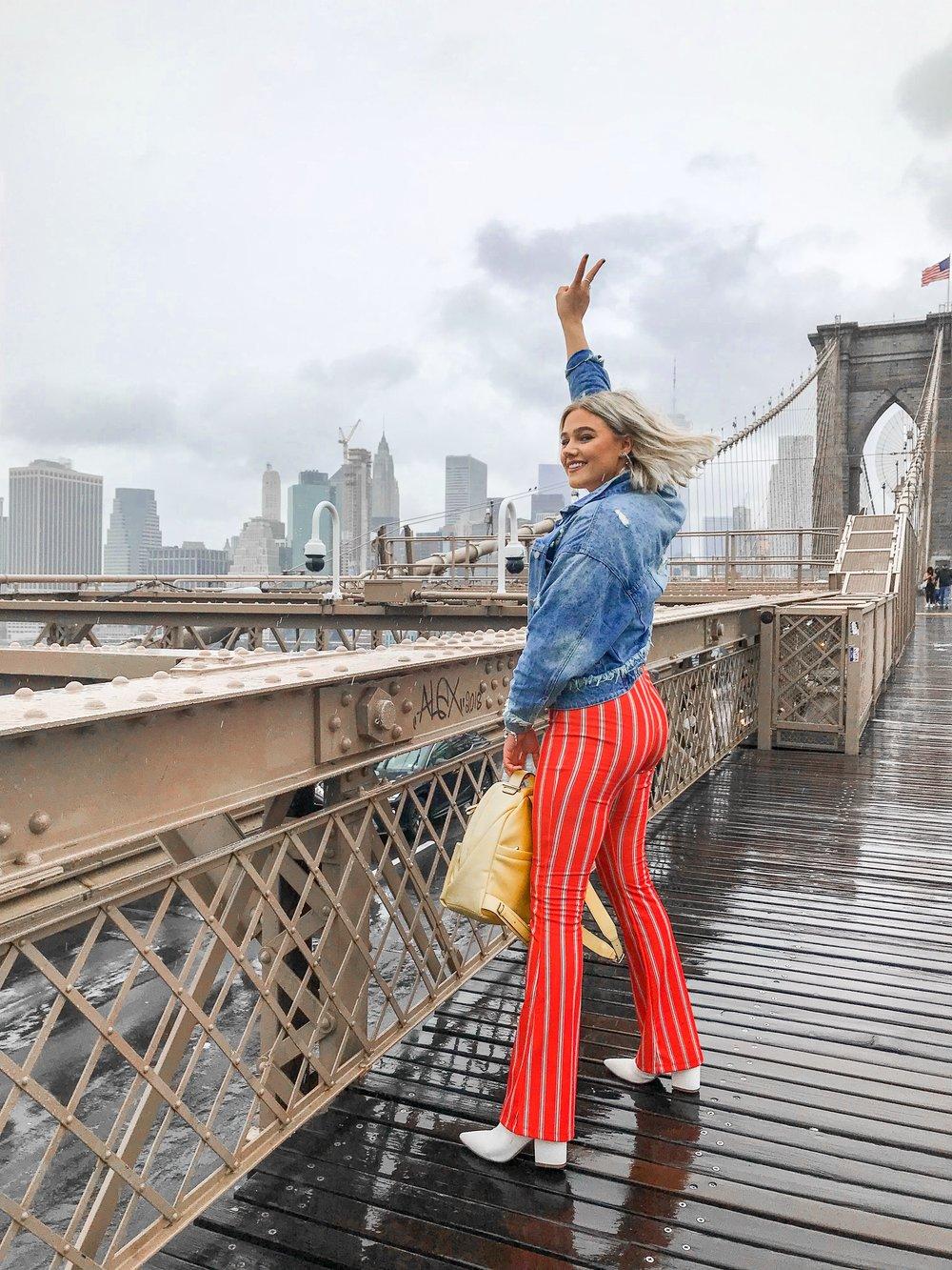 Bre Sheppard - My First NYFW - Brooklyn Bride - TopShop Pants.JPG