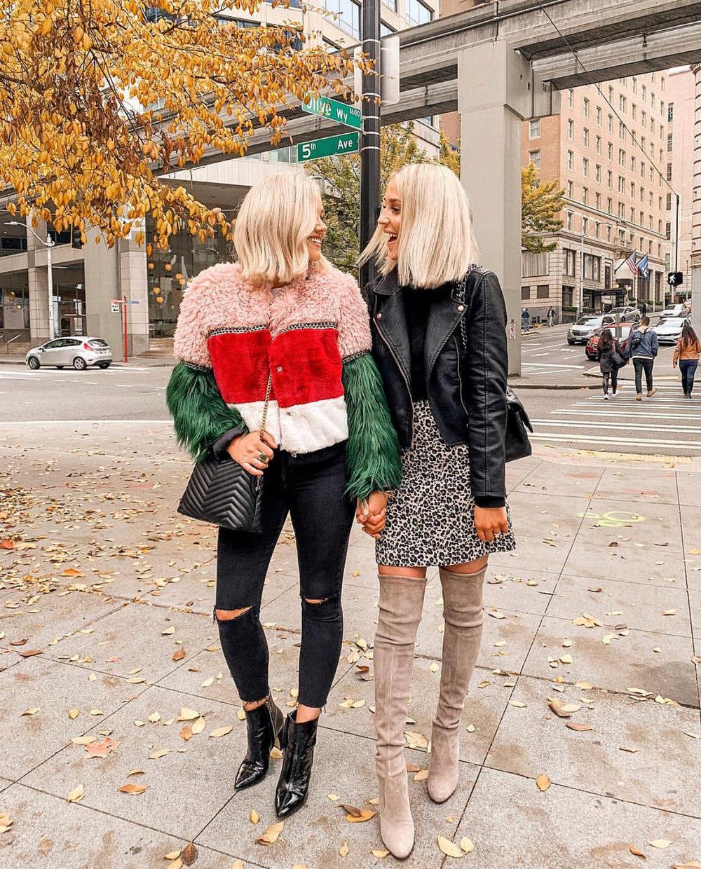 Bre Sheppard October Outfit Recap Shein Fuzzy Jacket.jpg