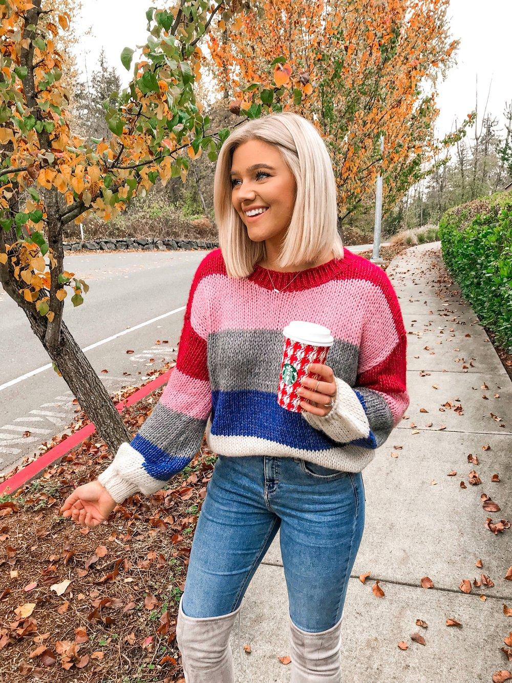 Bre Sheppard - Pink Lily Blogger Spotlight Sweater.JPG
