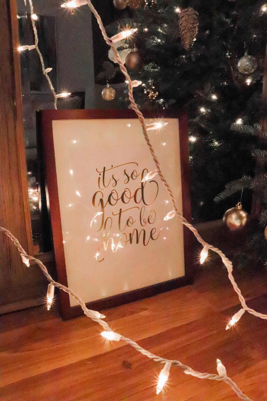 Bre Sheppard - Gifting : Christmas :  Handmade Sign .jpg