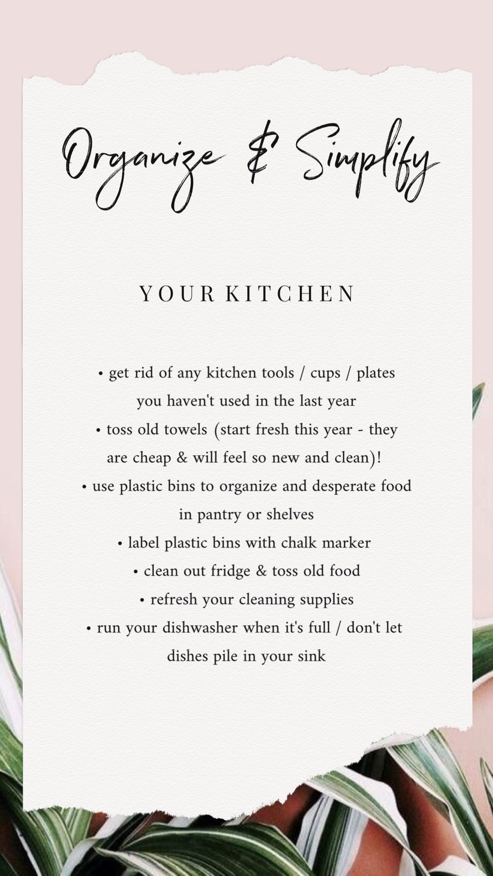 Bre Sheppard - How To Simplify & Organize Your Home - Your Kitchen.JPG