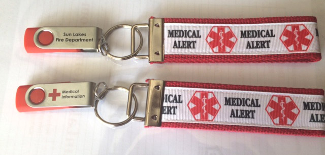 Medical Alert Flash Drive
