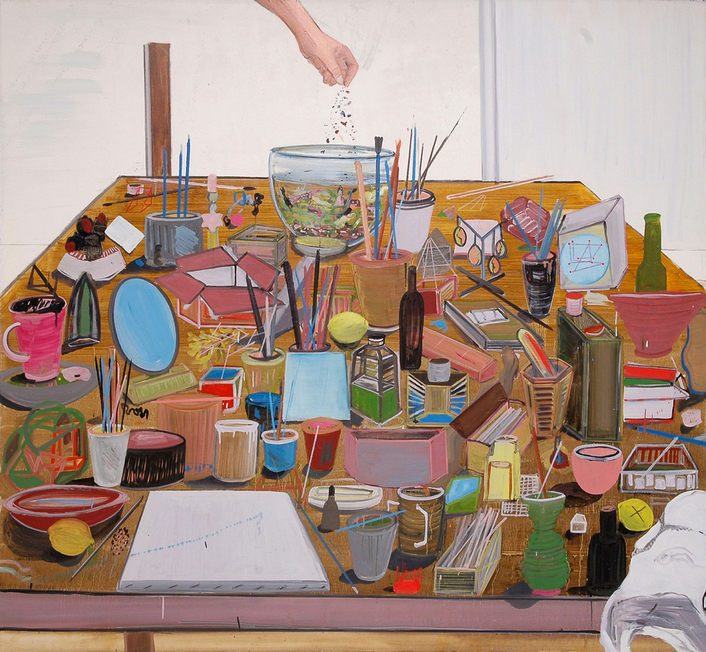All I Need, 2008    Oil on canvas, 158 x 178.5 cm