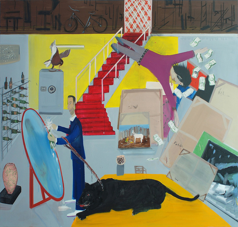 Collector, 2009 Oil on canvas, 186x197.5 cm