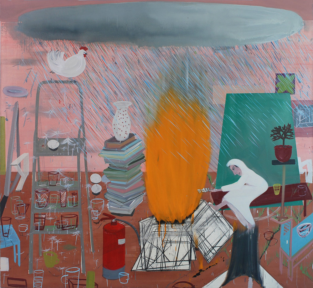 Creation Cycle, 2010    Oil on canvas, 189x208 cm