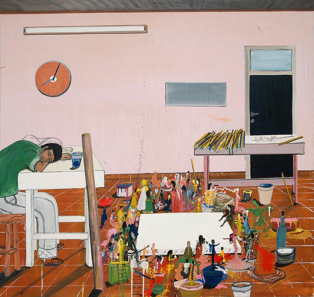 Dream, 2008    Oil on canvas,164x178 cm