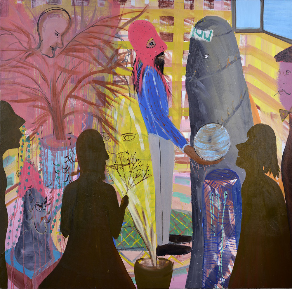 Golem, 2013    Oil on canvas,169x178 cm