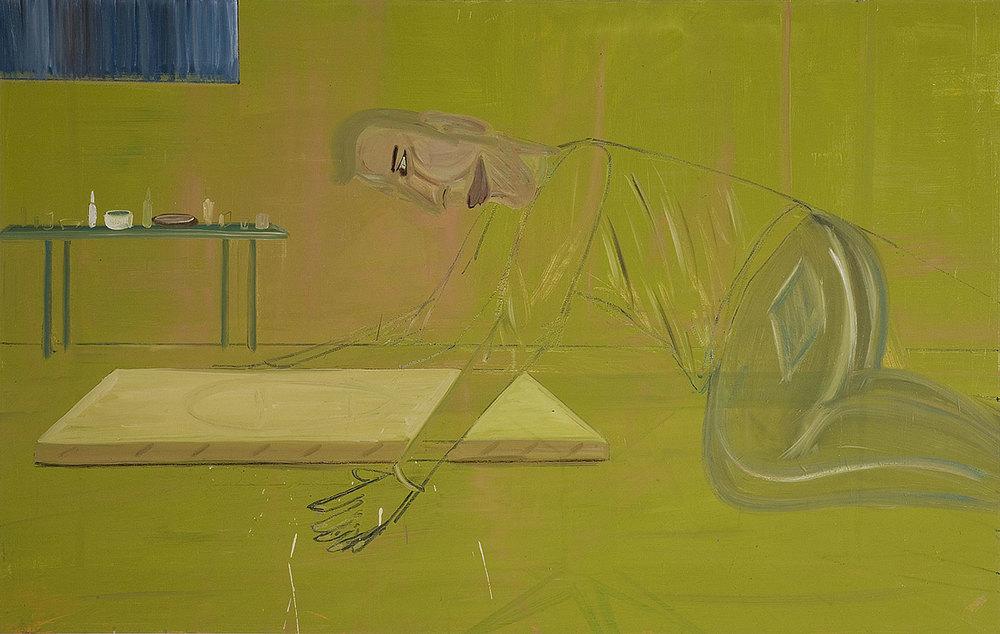 Transparent, 2007    Oil on canvas, 145x179 cm