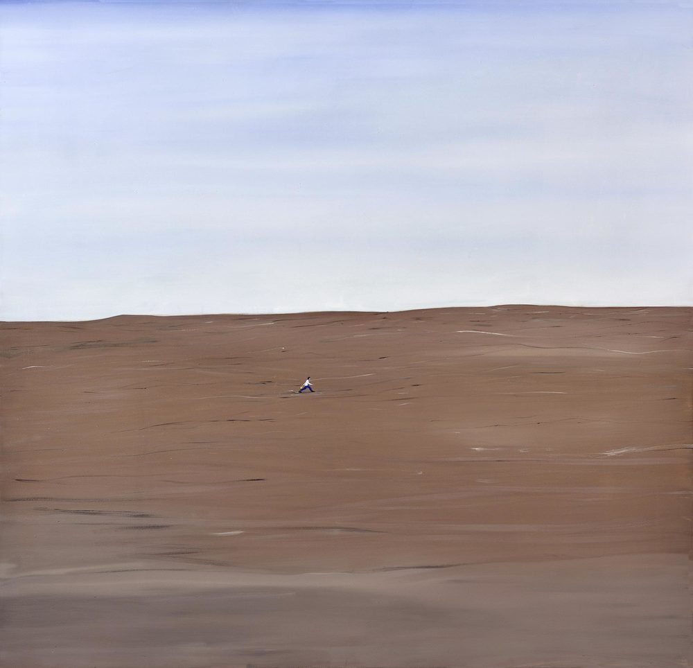 Determination, 2013    Oil on canvas, 178x183 cm