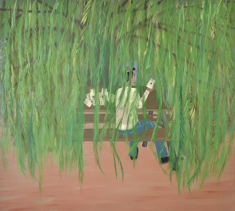 Poker, 2012    Oil on canvas, 179x212 cm