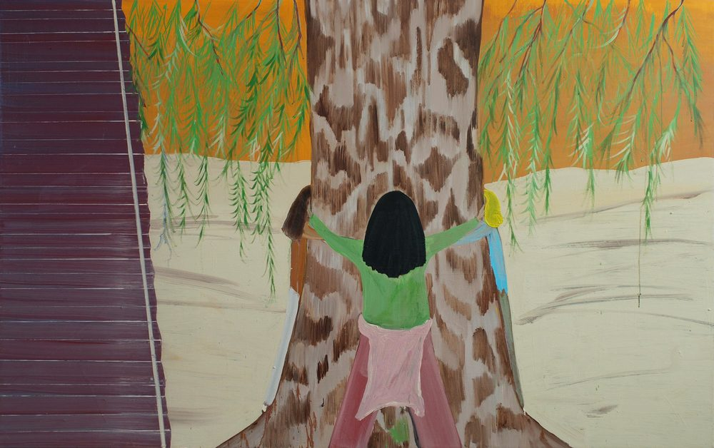 Spiritual Meeting, 2007  Oil on canvas, 188x141 cm