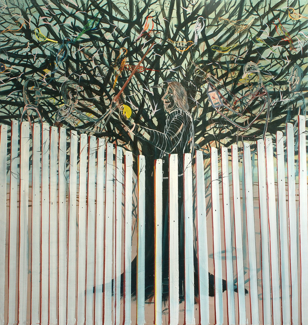 Transparent Tree, 2009    Oil on canvas, 190x200 cm